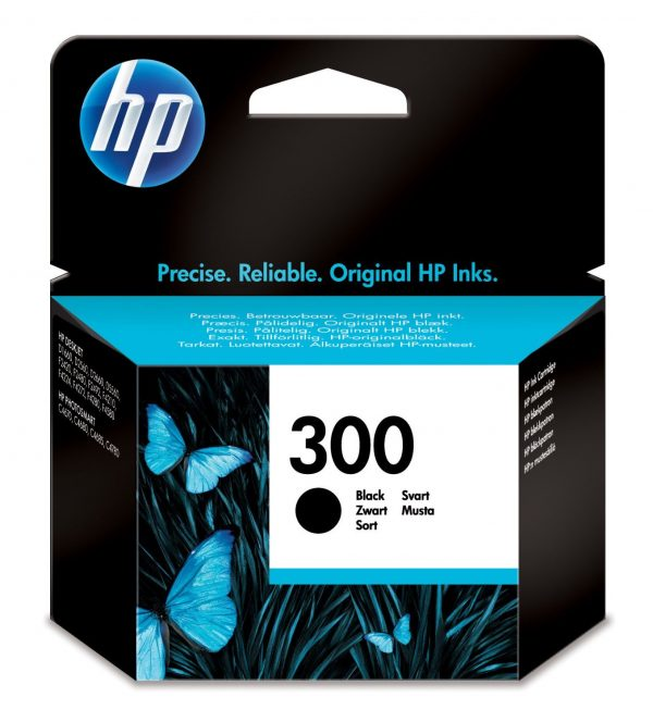 HP 300 Zwart-0