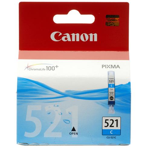 Canon CLI-521 Cyaan-0
