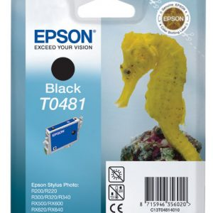Epson Cartridge T0481 Zwart-0