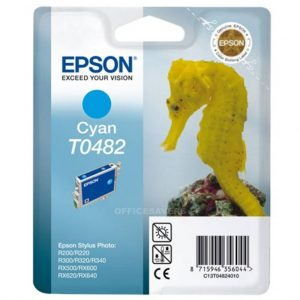 Epson Cartridge T0482 Cyaan-0