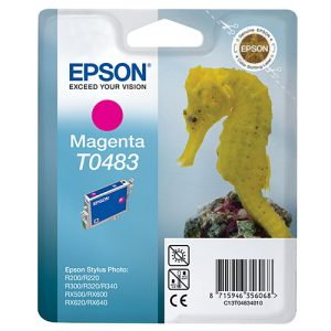 Epson Cartridge T0483 Magenta-0
