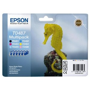 Epson Cartridge T0487 Multipack-0