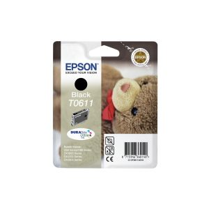 Epson Cartridge T0611 Zwart-0