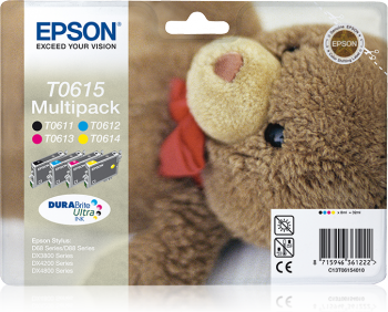 Epson Cartridge T0615 Multipack-0