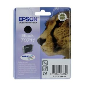 Epson Cartridge T0711 Zwart-0