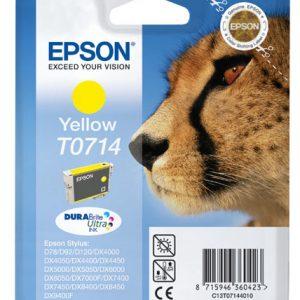 Epson Cartridge T0714 Yellow-0