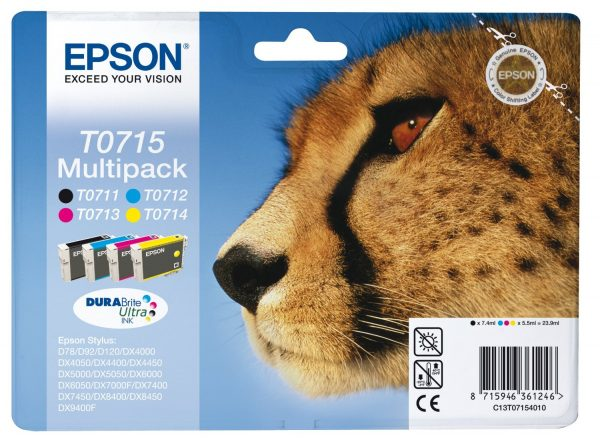 Epson Cartridge T0715 Multipack-0