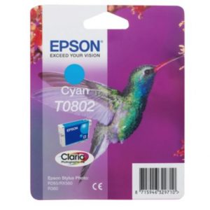 Epson Cartridge T0802 Cyaan-0