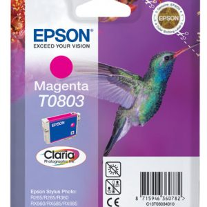 Epson Cartridge T0803 Magenta-0