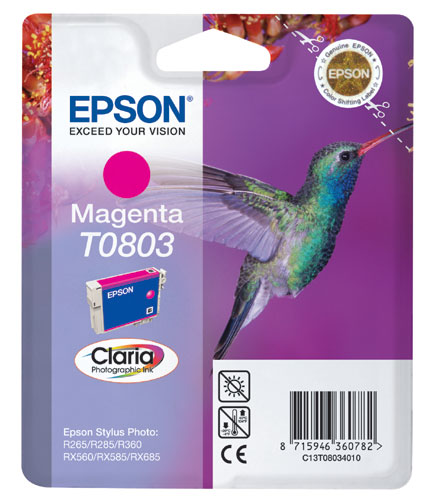 Epson Cartridge T0803 Magenta-0