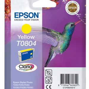 Epson Cartridge T0804 Yellow-0