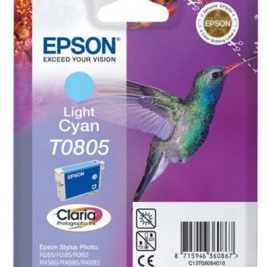 Epson Cartridge T0805 Light Cyaan-0