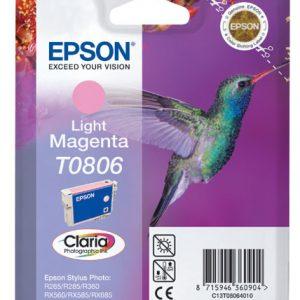 Epson Cartridge T0806 Light Magenta-0
