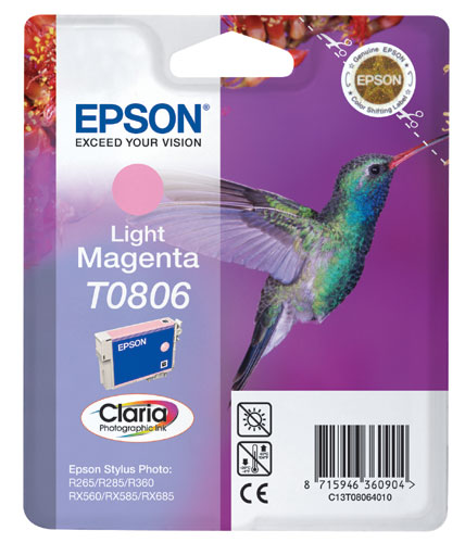 Epson Cartridge T0806 Light Magenta-0