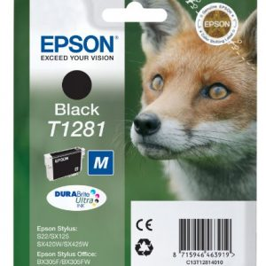 Epson Cartridge T1281 Zwart-0