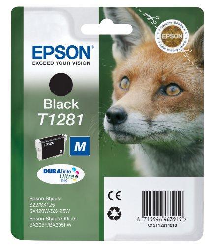 Epson Cartridge T1281 Zwart-0
