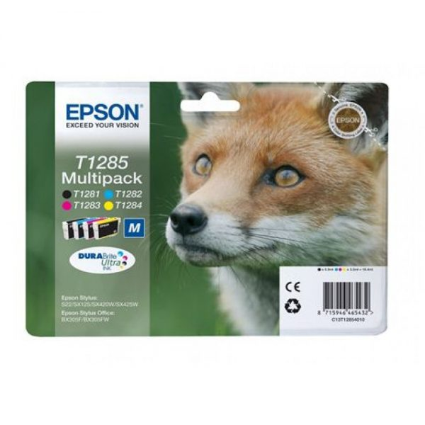 Epson Cartridge T1285 Multipack-0