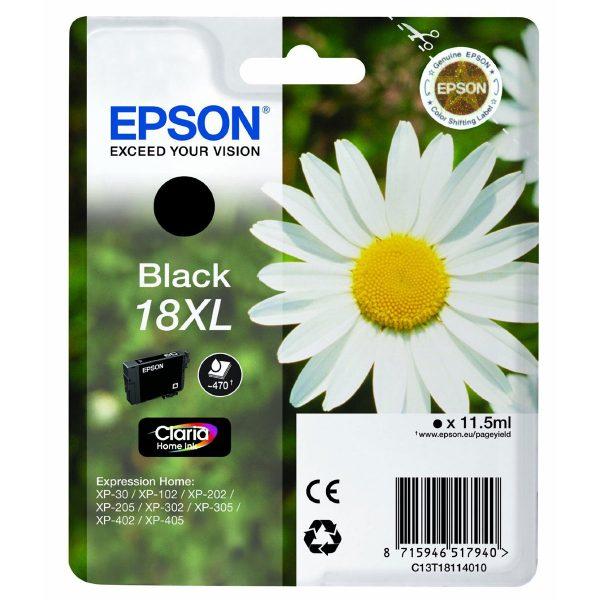 Epson Cartridge T1811XL Zwart-0