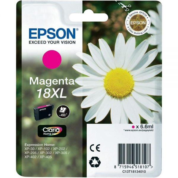 Epson Cartridge T1813XL Magenta-3327