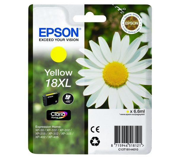 Epson Cartridge T1814XL Yellow-0