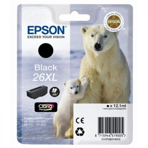 Epson Cartridge T2621XL Zwart-0