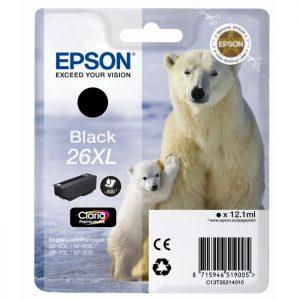 Epson Cartridge T2621XL Zwart-0