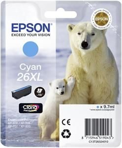 Epson Cartridge T2632XL Cyaan-0