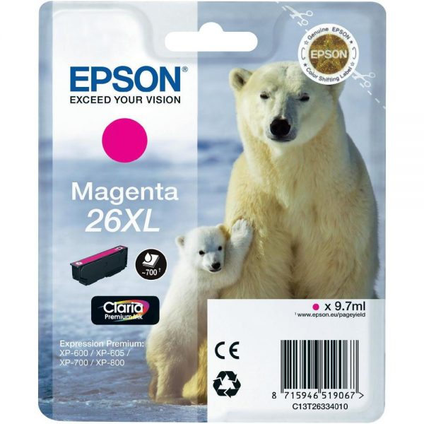 Epson Cartridge T2633XL Magenta-0