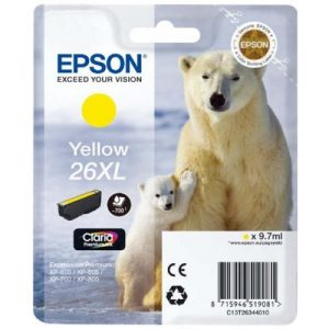 Epson Cartridge T2634XL Yellow-0