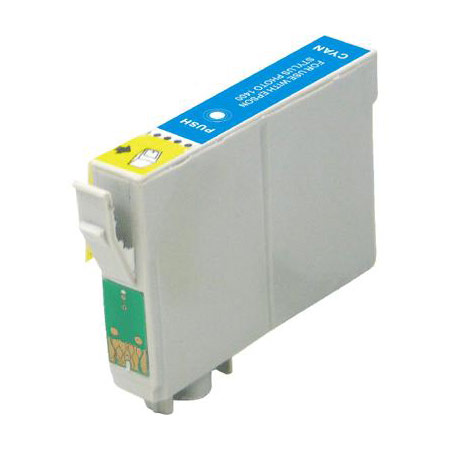 Epson Compatible Cartridge T1282 Cyaan-0