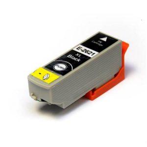 Epson Compatible Cartridge T2621 Zwart-0