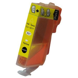 Canon Compatible CLI-521 Yellow-0