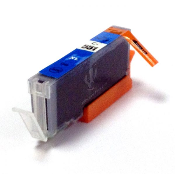 Canon Compatible CLI-551 Cyaan-0