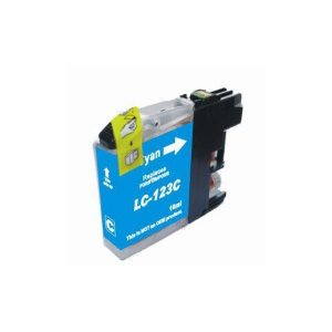 Brother Compatible LC123 Cyaan-0