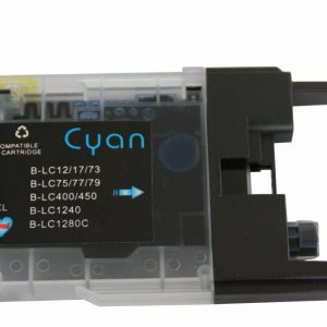 Brother Compatible LC1220/1240 Cyaan-0