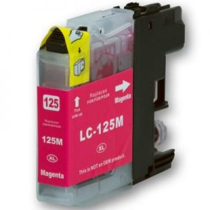 Brother Compatible LC125 Magenta-0