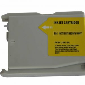 Brother Compatible LC970/1000 Yellow-0