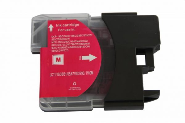 Brother Compatible LC980/1100 Magenta-0