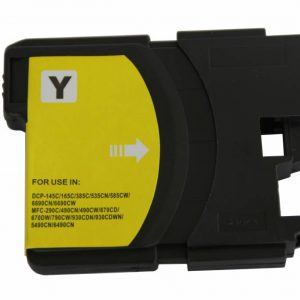 Brother Compatible LC980/1100 Yellow-0