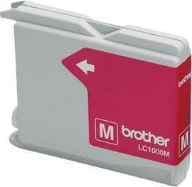 Brother LC1000 Magenta Gevuld-0