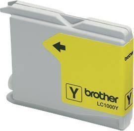 Brother LC1000 Yellow Gevuld-0