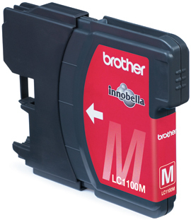 Brother LC1100 Magenta Gevuld-0