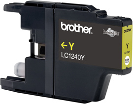 Brother LC1240 Yellow Gevuld-0