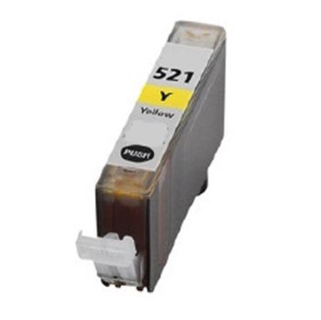 Canon CLI-521 Yellow Gevuld-0