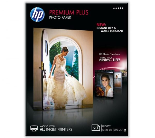HP Fotopapier 13x18cm Glossy (20 stuks)-0
