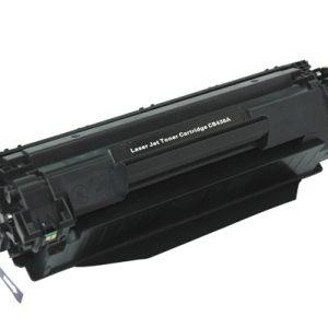 HP Compatible Toner 35A/36A Zwart-0