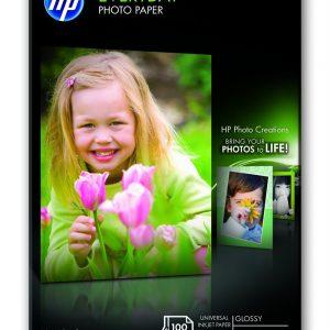 HP Fotopapier 10x15cm Glossy (100 stuks)-0