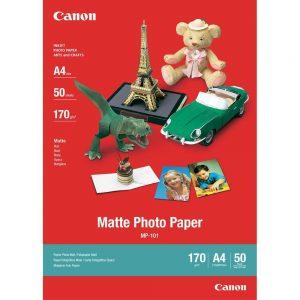 Canon Fotopapier A4 Matglans (50 stuks)-0