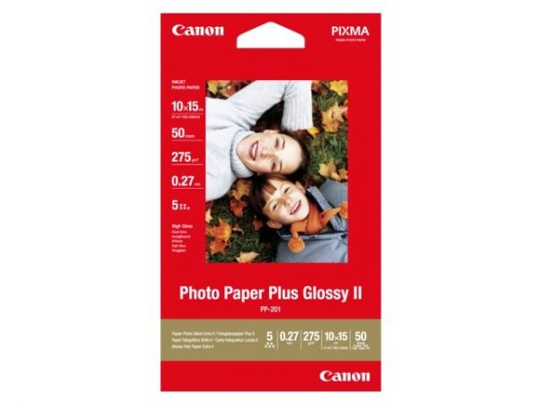 Canon Fotopapier 10x15cm Plus Glossy (50 stuks)-0
