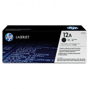 HP Toner 12A Zwart-0